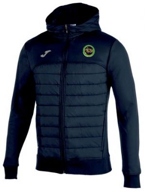 Boyne A.C.C Joma Berna Hoodie Windbreaker Navy Adults 2019